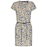 Scotch & Soda Maison Damen Kleid Straight Fit Printed Tee Dress with Burnout Animal Pattern, Mehrfarbig (Combo T 99), X-Small