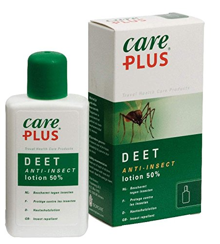 Care Plus Erwachsene Anti-Insect Deet 50% Lotion 50ml, Transparent, 50 ml