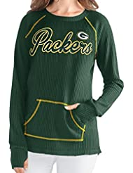 "Green Bay Packers Women's G-III NFL ""Post Season"" Waffle Knit shirt Chemise"