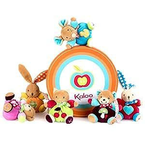 Kaloo - 2079361 - Colors - Peluche - Set Avec 12 Mini Animaux - 12 Cm