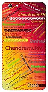 Chandramukhi (Popular Girl Name) Name & Sign Printed All over customize & Personalized!! Protective back cover for your Smart Phone : Samsung I9100 Galaxy S II ( S-2 )