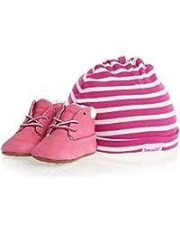 Timberland Crib Bootie with hat, Scarpe prima infanzia e cappello