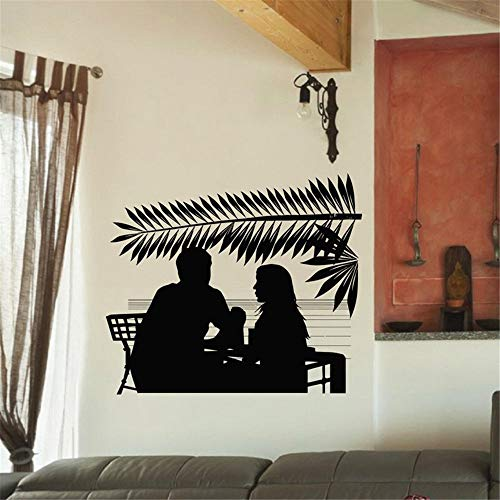Wandtattoo Wohnzimmer Wandtattoo Schlafzimmer Kaffee-Aufkleber-Nahrungsmittelabziehbild-Café-Plakat-Kunst-Dekor für Kaffeestube -
