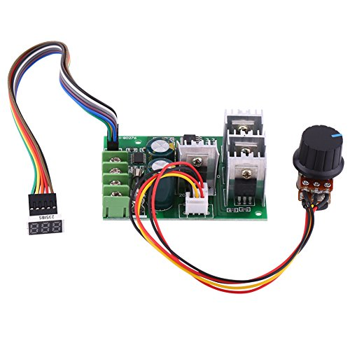 Home Improvement 100% True Pwm Dc Motor Speed Controller 12v 24v 36v 48v 60v 10a Aesthetic Appearance