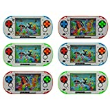 #3: Kids Water Ring Game Toy Water Game Handheld Classic Water Game Rings Waterful Ring Toss Children Gift Toy Pack of 6