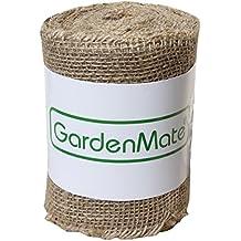 GardenMate® Un Rollo de Cinta de Arpillera 25m x 15cm 200gsm