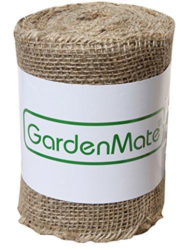 GardenMate® Ruban Toile de Jute 25m x 15cm 200gsm