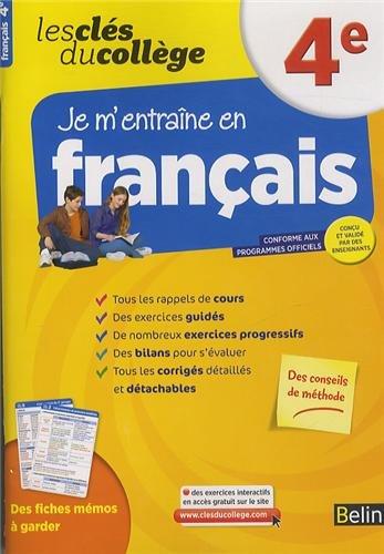 Cls du collge - Franais 4e