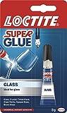 Loctite Super Glue Tube for Glass - 3 ml