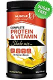 MuscleXP Complete Protein and Vitamin Shake Mix - 500 g (Mango)