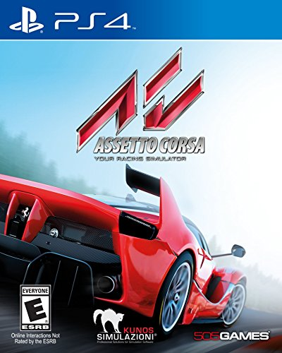 505 Games Assetto Corsa PS4 Basic PlayStation 4 English video game - video games (PlayStation 4, Racing, Multiplayer mode)