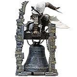 ZEQUAN Assassin'S Creed Personaje Modelo Juguete Decoración Altair Altai Reloj Torre Estatua Colección de Regalos Recuerdo Artesanía Juego Anime Lovers (28CM)