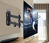 QualGear Articulating Wall Mount for TV Upto 15 - 27-Inch - Black Bild 6