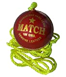 #7: TIMA Cricket Leather Rope Ball (Practice Or Knocking Ball)