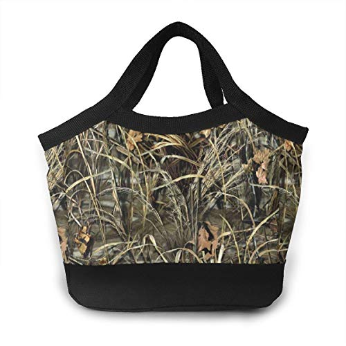 Realtree Camo Wallpapers Logo Lunch Bag For Women Insulated Lunch Tote Bag Durable Lunch Bag Lunch Container -