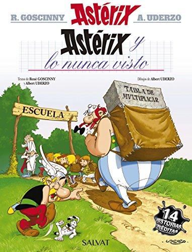 Astérix y lo nunca visto (Castellano - A Partir De 10 Años - Astérix - La Colección Clásica) por René Goscinny