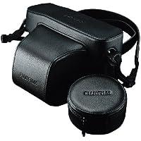Fujifilm LC-XPro1 - Estuche rígido de cuero para la cámara Fujifilm X-Pro1, color negro