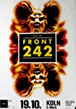 FRONT 242 - 1993 - Konzertplakat - Up Evil - Tourposter - Concert