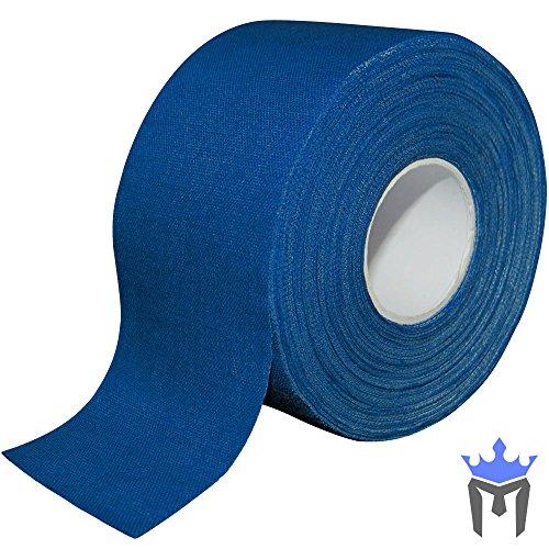 Meister Premium Sportler Zinkoxid Tapeverband für Sport und Medizin - 13,7 m x 3,8 cm - Blau - 1 Rolle -