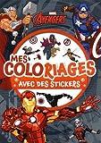 MARVEL - Mes coloriages avec Stickers