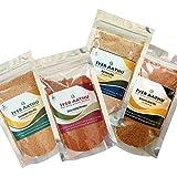 Iyer AATHU Combo_005- Dosa Chilly Powder 100gm + Dal Rice Mix 100gm + Coriander Rice Mix 100gm + Sesame Rice Mix 100gm