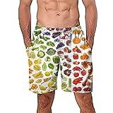 MORETIME Original Herren Badeshorts - Bermudashorts - Viele Trendige Farben Und GrößEn S-4Xl - QualitäT Von Celodoro Advanced Herren Badehose Kaleo