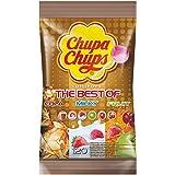 Chupa Chups Best of Lutscher-Beutel | 6 farbenfrohe Geschmacksrichtungen | 120 Lollis im Nachfüllbeutel