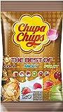 Chupa Chups Best of Lutscher-Beutel | 6 farbenfrohe Geschmacksrichtungen | 120 Lollis im Nachfüllbeutel -