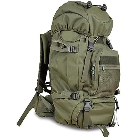 Un nuova giornata sport all'aperto alpinismo borse moda frenzy Campeggio capacit¨¤ 3D pacchetto 60L , green - Camelbak Bambini Zaino