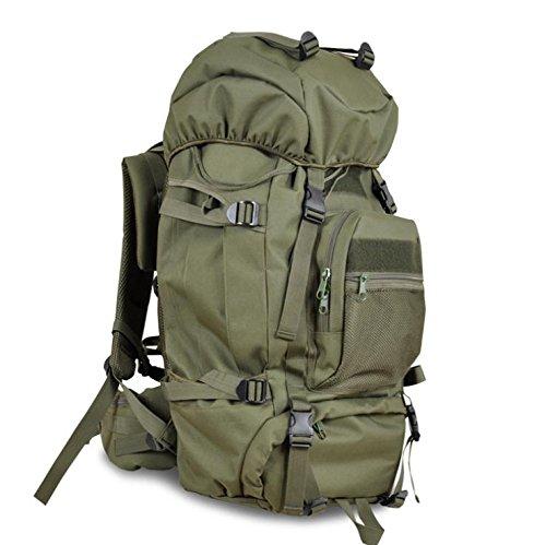 YYY-Un nuova giornata sport all'aperto alpinismo borse moda frenzy Campeggio capacità 3D pacchetto 60L , desert camouflage Green