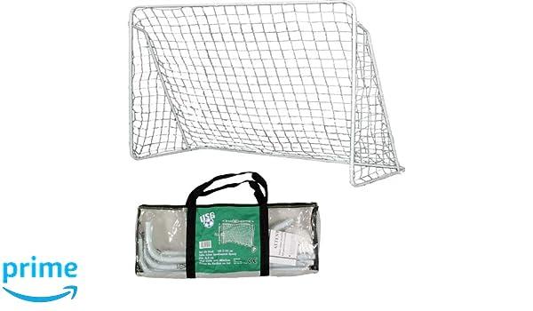 3164743d7e WDK Partner A1201739 - Porta da calcio in acciaio, in borsa di plastica, 120