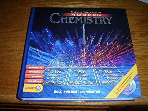 Modern Chemistry Annotated Teacher's Edition 2002