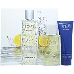 ROCHAS HOMME EDT + AS VP 100 125
