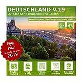 Deutschland V.19 - Profi Outdoor Topo Karte - Kompatibel zu Garmin Geräte