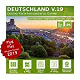 Deutschland V.19 - Profi Outdoor Topo Karte kompatibel zu Garmin GPSMap 64, GPSMAP 64s, GPSMap 64st