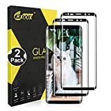 CRXOOX 2 Pezzi Vetro temperato per Samsung Galaxy S9 Plus Pellicola Proteggi Schermo Senza Bolle Facile Installazione per Samsung Galaxy S9...
