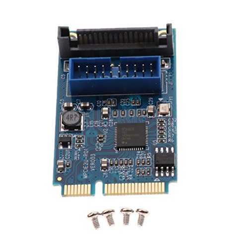 IPOTCH Placa Base Mini PCI Express USB 3.0 Adaptador