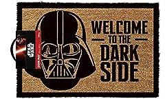 Idea Regalo - Lasgo Star Wars Zerbino Welcome To The Darkside, Materiale Sintetico, Multicolore, 60x40x2 cm