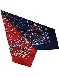 Unisexe avec bandana 100 % coton motif paisley 55 cm