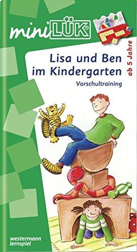 miniLÜK: Lisa und Ben im Kindergarten: Vorschultraining für Kinder ab 5 Jahren