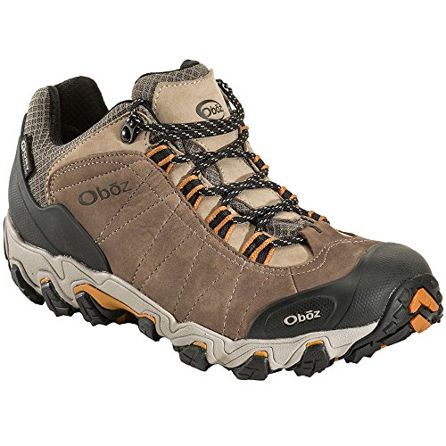 Oboz Bridger Low BDry Hiking Boot - Men's Walnut 10.5 D(M) US