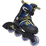 K2 Cadence Boys Inline Skates 3050960 2016 - Blau/Gelb Gr. S (29-34)