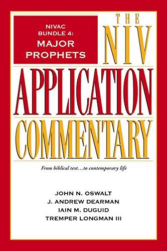 NIVAC Bundle 4: Major Prophets (The NIV Application Commentary)