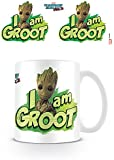 Marvel Comics MG24507 Guardians of The Galaxy Vol. 2 (I Am Groot) Mug Céramique, Multicolore, 11oz/315ml