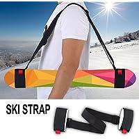 Verstellbarer Snowboard Ski Strap Strapazierfähiger Schultergurt für Skating Snowboard