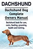 51vOroROA4L. SL160  - NO.1# LONG HAIRED DACHSHUNDS INFORMATION GUIDE