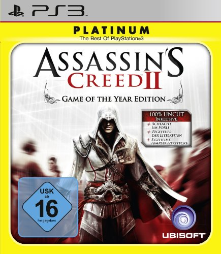 Playstation 2 Assassins 3 Creed (Assassin's Creed 2 - Game of the Year Edition [Platinum])