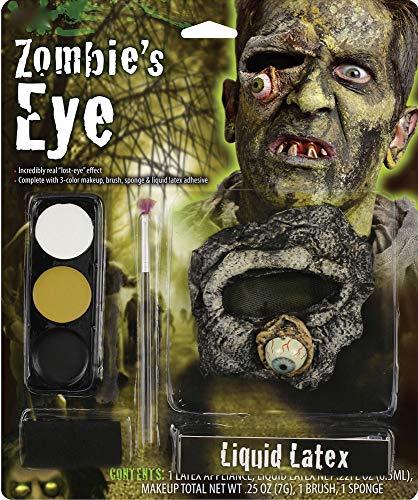 shoperama Halloween Schminkset herausfallendes oder fehlendes Auge Make-up Schminke FX Halloween...