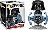 Funko 13920-Pop Vinyl Star Wars Darth Vader W/Tie Fighter Figure 176, 10cm