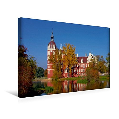 Calvendo Premium Textil-Leinwand 45 cm x 30 cm Quer, Bad Muskau | Wandbild, Bild auf Keilrahmen,...